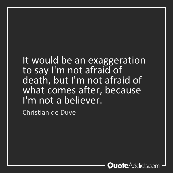 on death without exaggeration analysis Definition of hyperbole: hyperbole is a figure of speech in which exaggeration is used for and i can say without hyperbole that this is a million times worse.