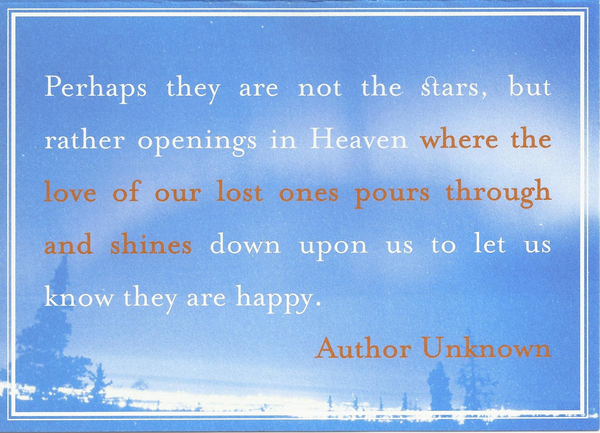 Quotes About Loved Ones In Heaven 25 Quotes
