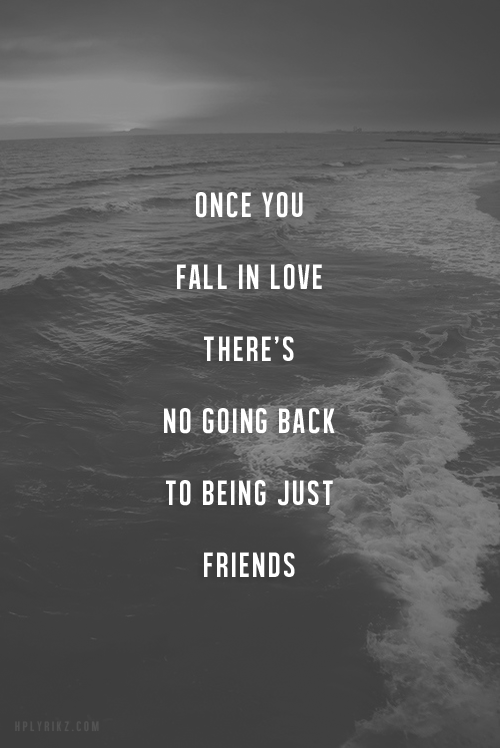 Quotes About Being More Than Friends 35 Quotes