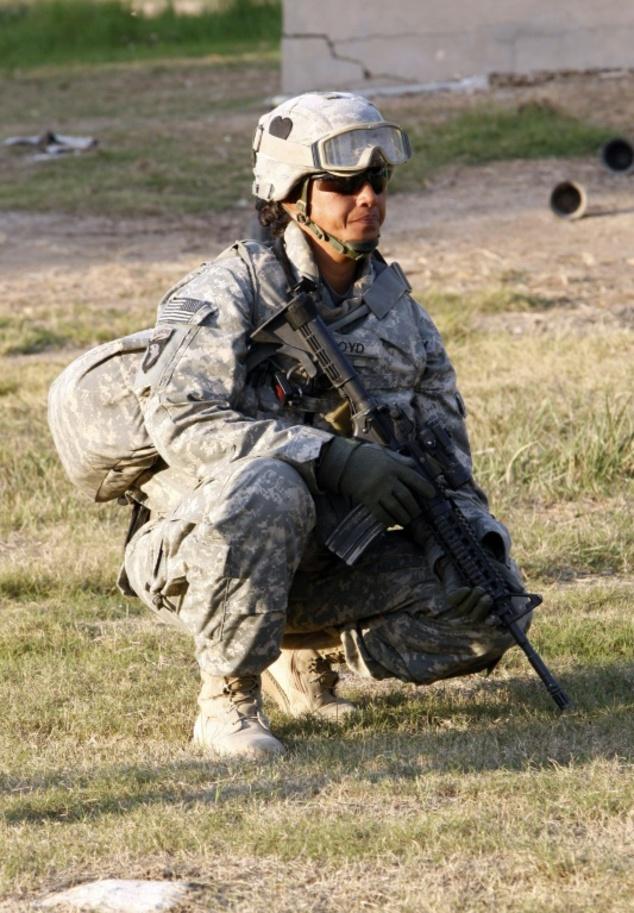 Pics military women 33 Powerful