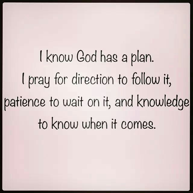 Quotes about God\'s plan for me (42 quotes)