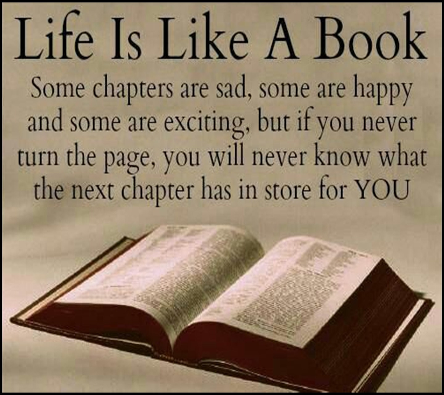 Quotes about Life Is Like A Book (45 quotes)