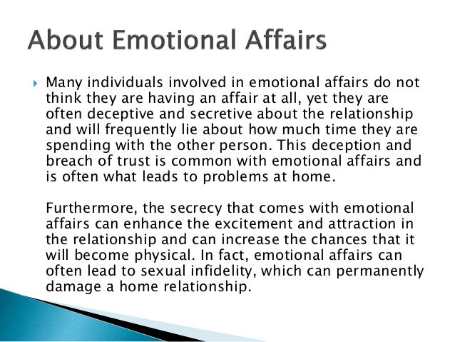 Quotes about Emotional Affair (24 quotes)