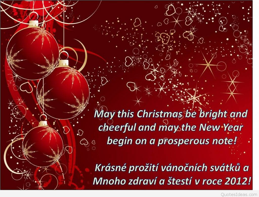 Quotes about Christmas and new year (72 quotes)