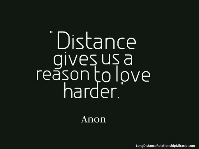 Someone loving long distance quotes about 2021 Good