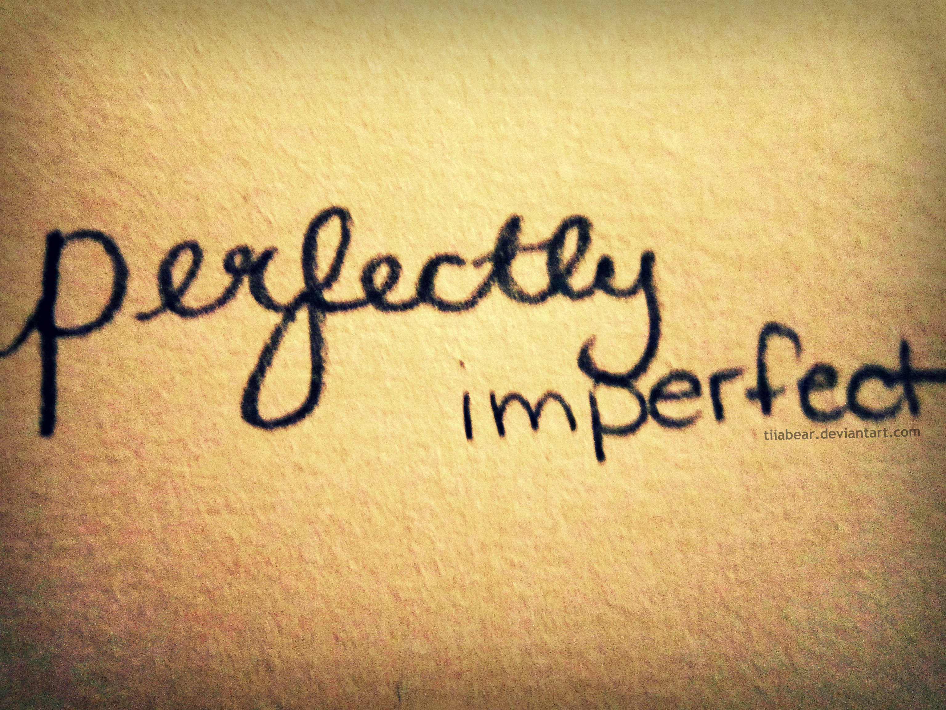 quotes about perfect and imperfect quotes