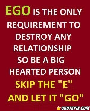 Quotes About Ego Person 54 Quotes