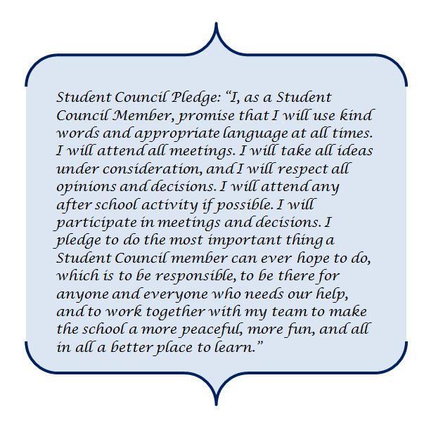 Student Council Essay Example