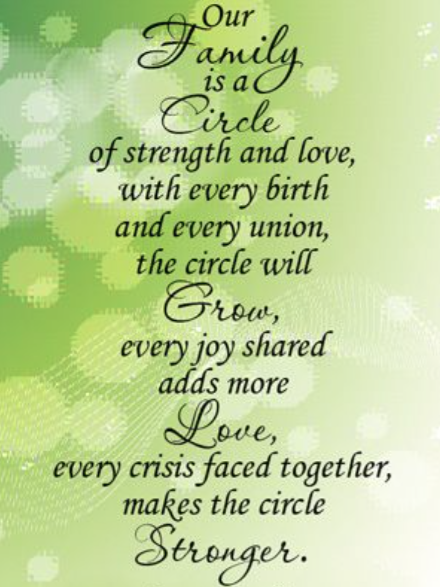 quotes about family strength quotes