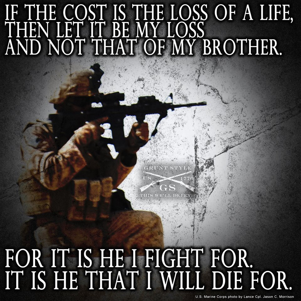 Famous Marine Corps Quotes Quotes About Brother In Military 21 Quotes