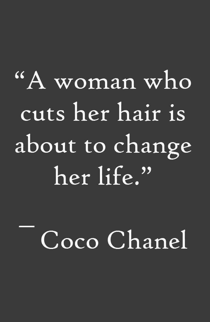Quotes about Cutting Hair (10 quotes)