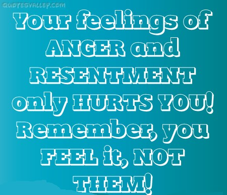 How To Cope With Anger And Resentment