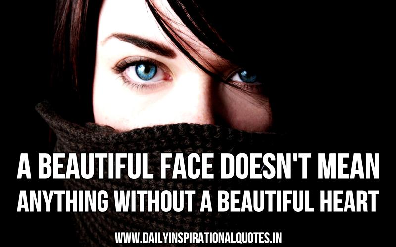 Quotes About Beauty Face 108 Quotes