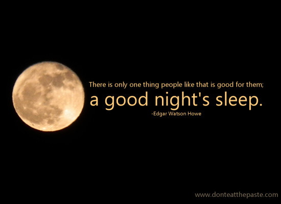 Quotes About Good Sleep 134