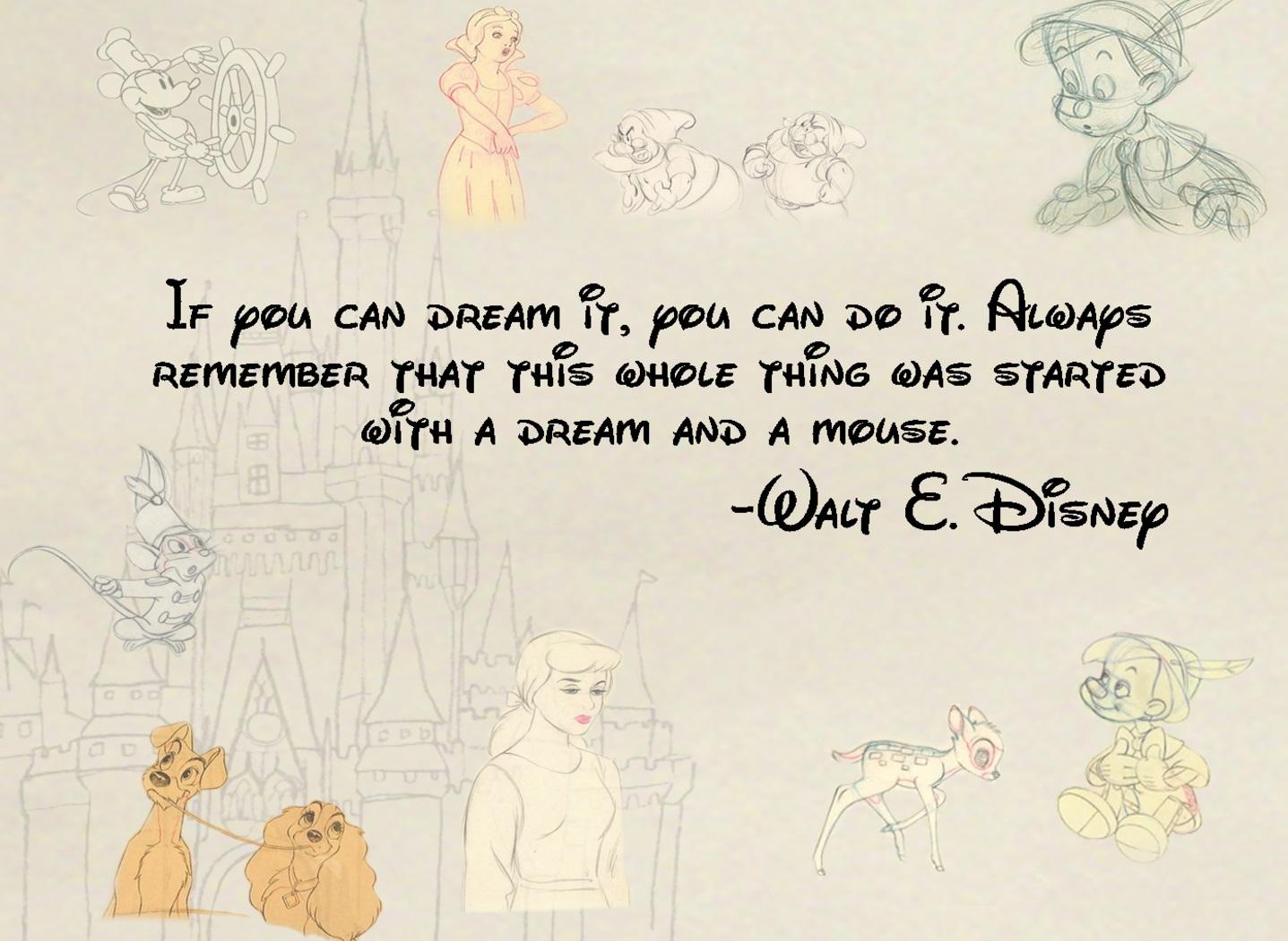 Quotes About Dreams Walt Disney 50 Quotes