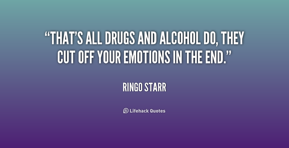 Quotes pertaining to drugs