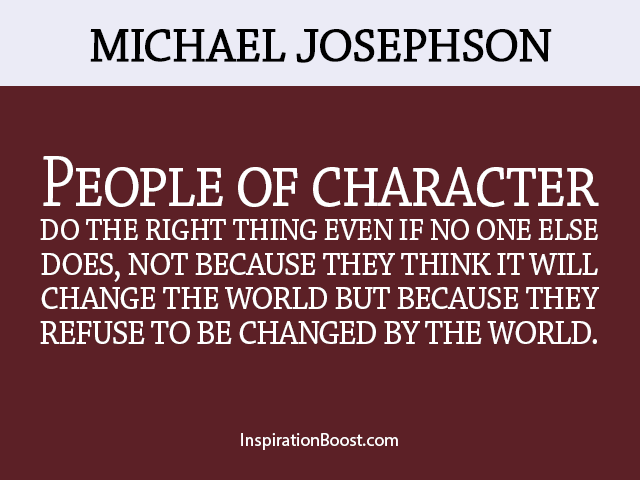 Quotes About Character 6060 Quotes Custom Quotes About Character