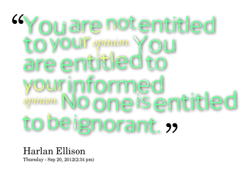 Quotes about Forming Opinions (19 quotes)