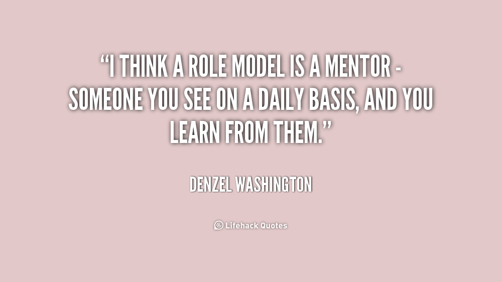 Quotes About Celebrities Being Role Models 60 Quotes Custom Role Model Quotes
