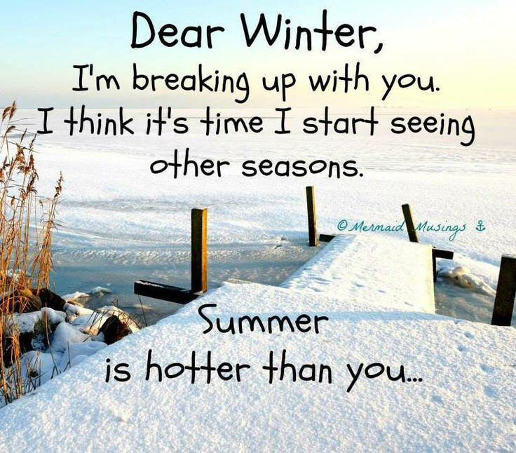 Quotes About Beach In Winter