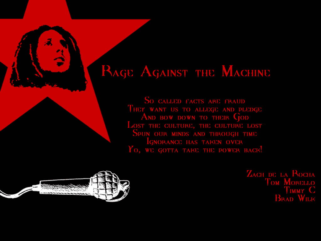 Quotes About Rage Against The Machine 29 Quotes