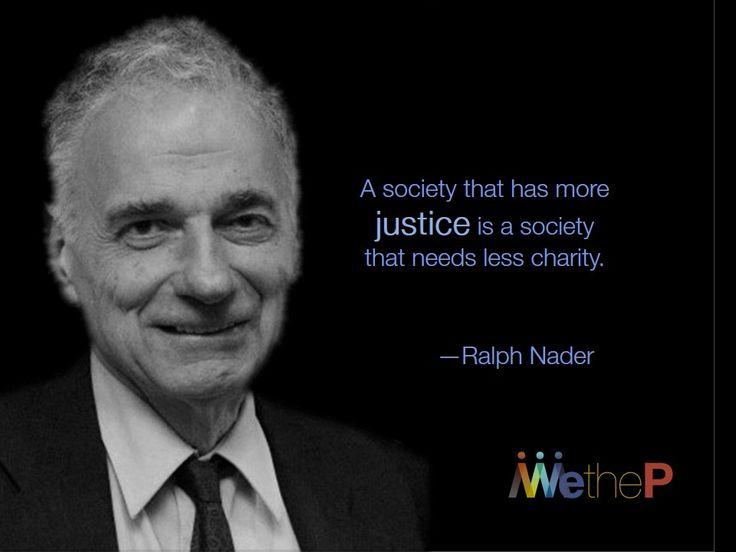 Ralph Nader On Entrepreneurs Pay