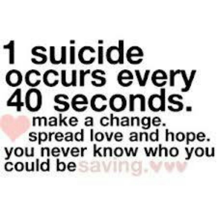Quotes About Suicide Prevention (28 Quotes