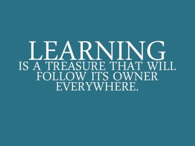 Quotes about Continue learning (66 quotes)