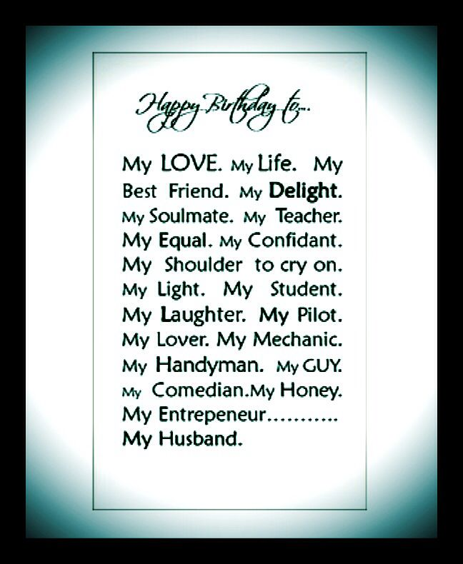 Wondrous Quotes About Birthday Of My Husband 36 Quotes Funny Birthday Cards Online Alyptdamsfinfo