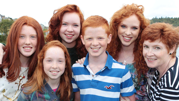 irish redhead ireland gingers ginger parade convention patrick cork hair redheads quotes patricks natural heads parrot helpful pride non calendar