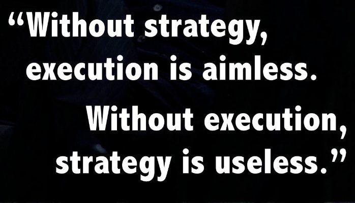 Quotes about Execution management 22 quotes