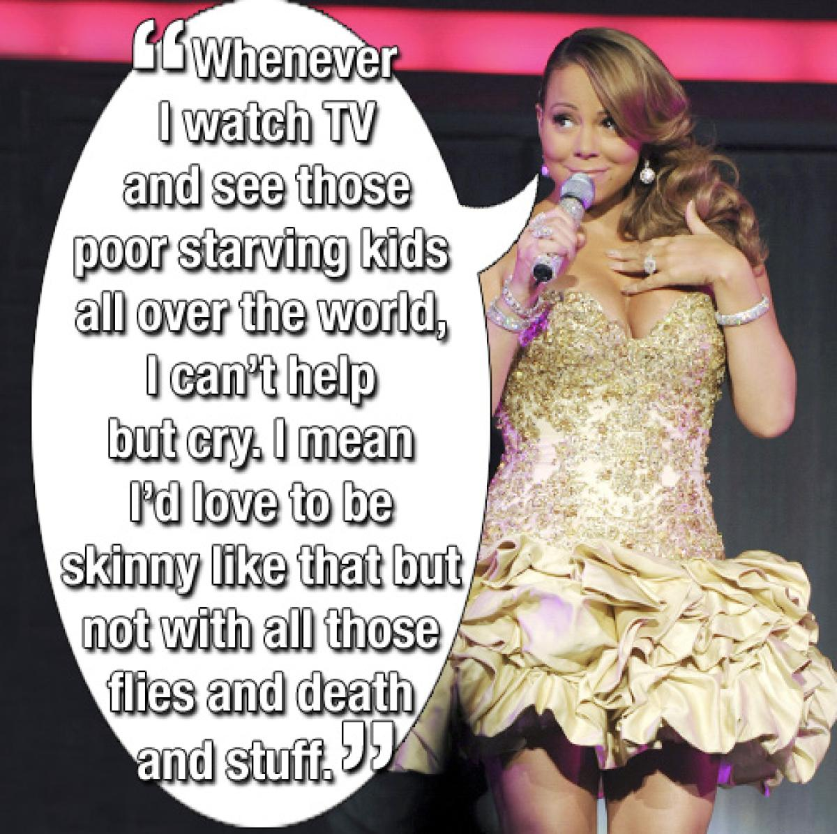 Quotes about Mariah Carey (53 quotes)