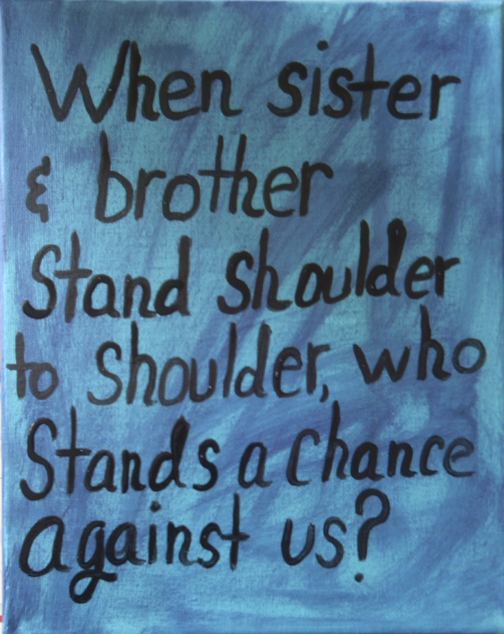 Quotes about Brother siblings (44 quotes)