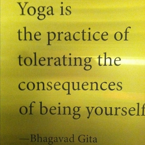 Quotes About Practice Of Yoga