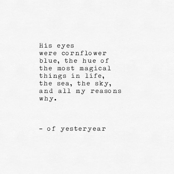Quotes about His blue eyes (36 quotes)