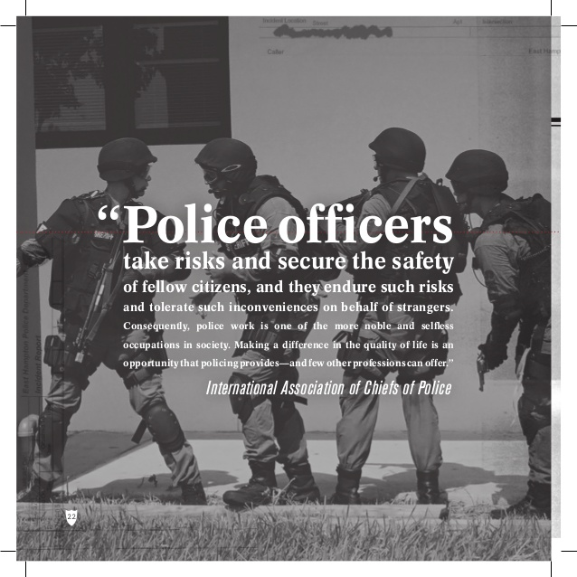Quotes about Police officer safety (17 quotes)