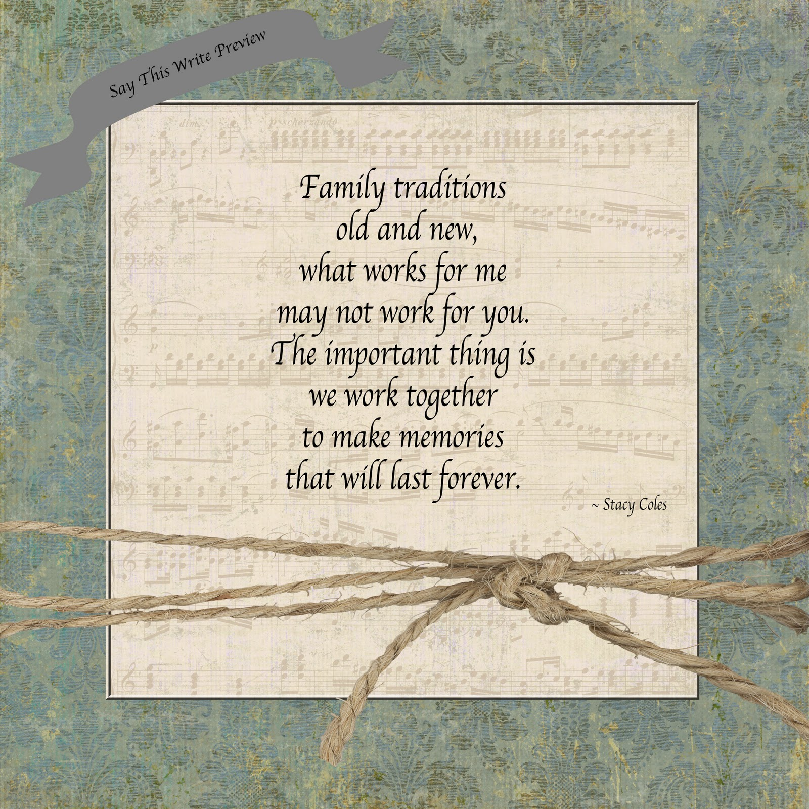 quotes about tradition and family quotes