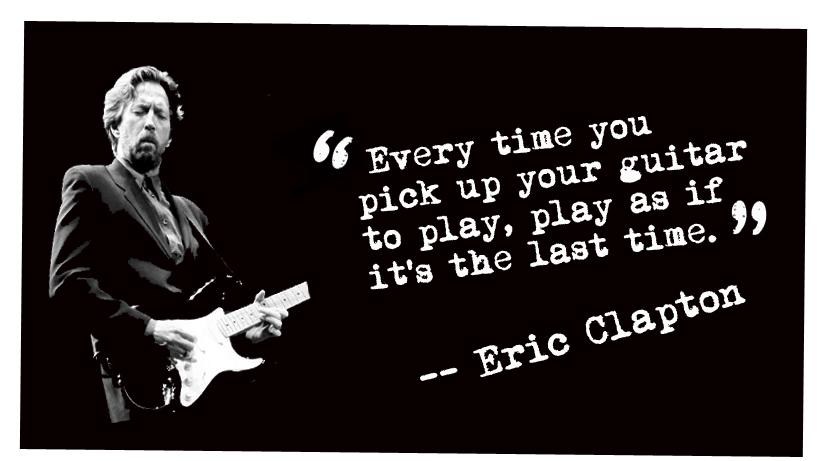 ผลการค้นหารูปภาพสำหรับ eric clapton quotes about guitar last time