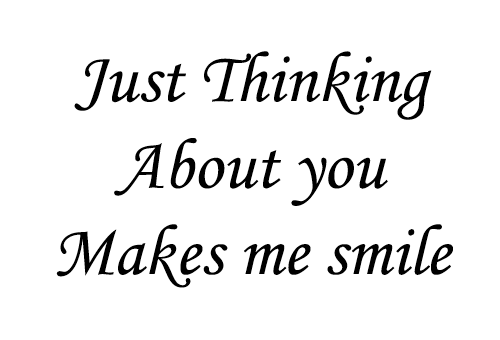 Quotes about thinking of him