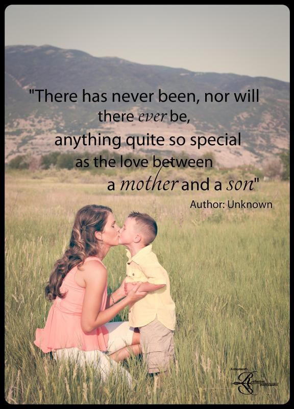 Quotes about Son and mom (53 quotes)