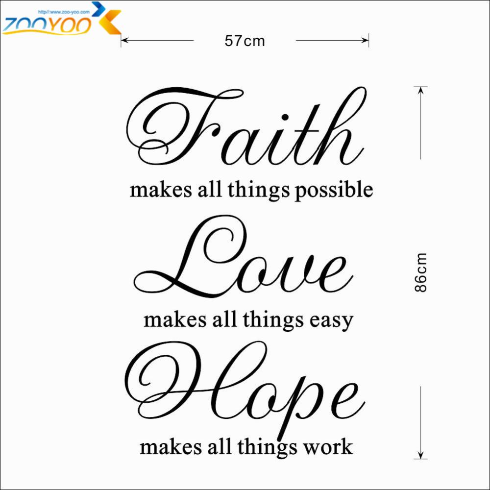 Quotes About Faith Hope And Love 117 Quotes