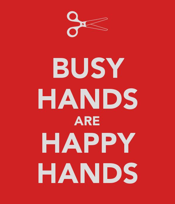 Quotes about Busy hands (56 quotes)