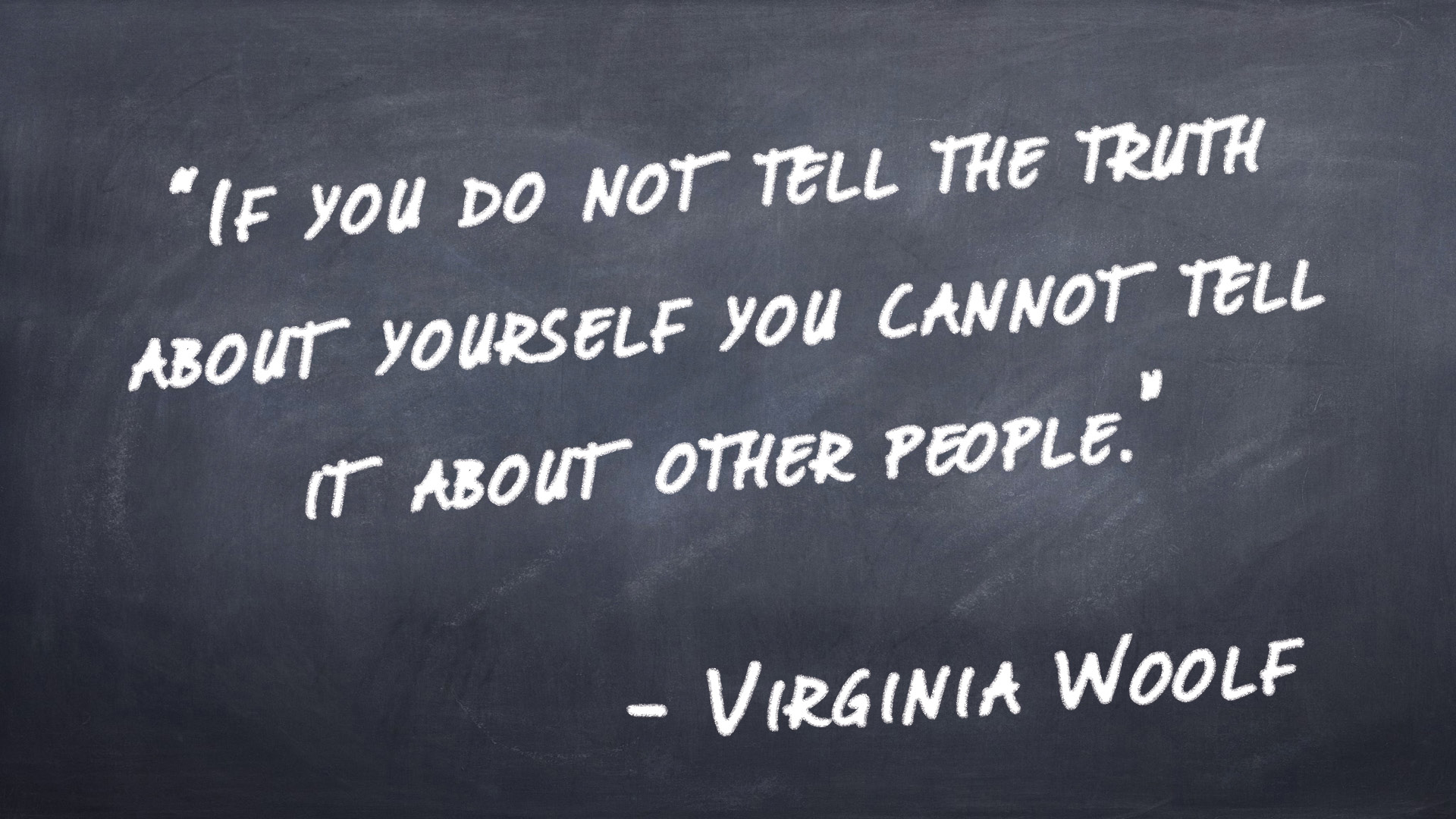 What to tell people about yourself