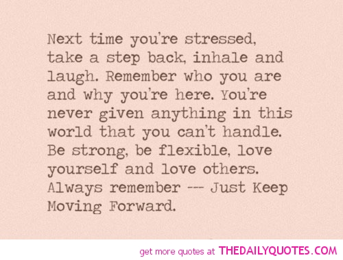 Quotes about Stressful Times (30 quotes)