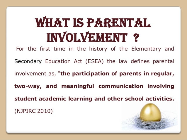 dissertation and parent involvement