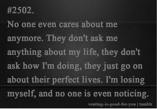 Quotes about No One Cares (123 quotes)