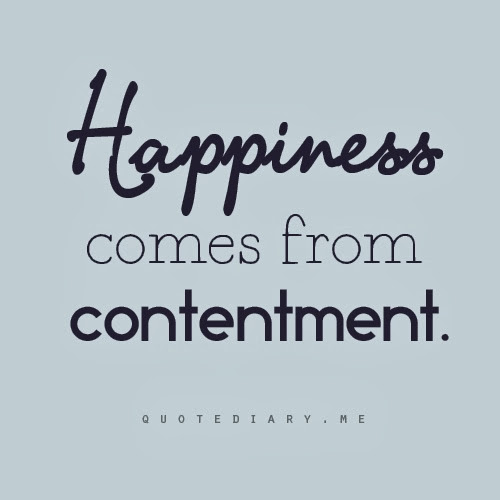Quotes About Life Contentment 54 Quotes