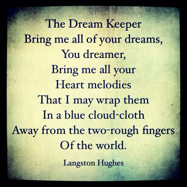 the perception of american dream in the writings of langston hughes Langston hughes (1902-1967) he is one of my favorite 20th-centruy poets moreover, he is a native of missouri in the second stanza, hughes represents the african-american experience as that of the darker brother who (remember that hughes is writing during the period of segregation, when he.