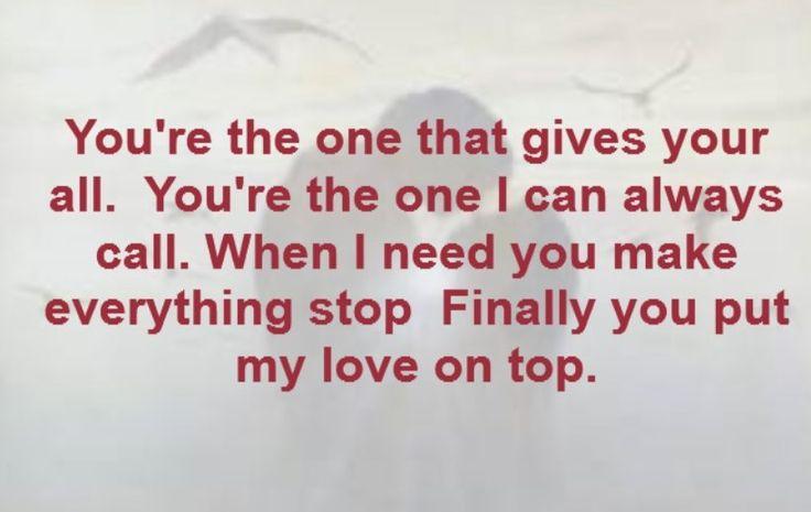 Quotes About Popular Lyrics 20 Quotes