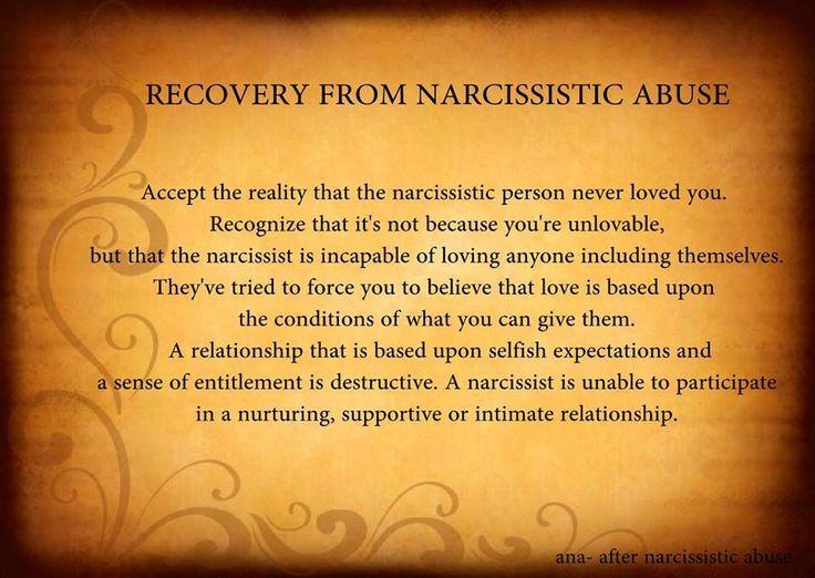 leaving a narcissist boyfriend